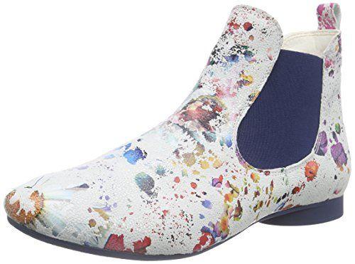 THINK! Guad Chelsea Boot, Damen Chelsea Boots, Elfenbein (BIANCO/KOMBI 97), 40 EU - http://on-line-kaufen.de/think-2/40-eu-think-guad-damen-chelsea-boots-4