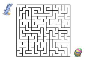 Labyrinth, Irrgarten Ostern