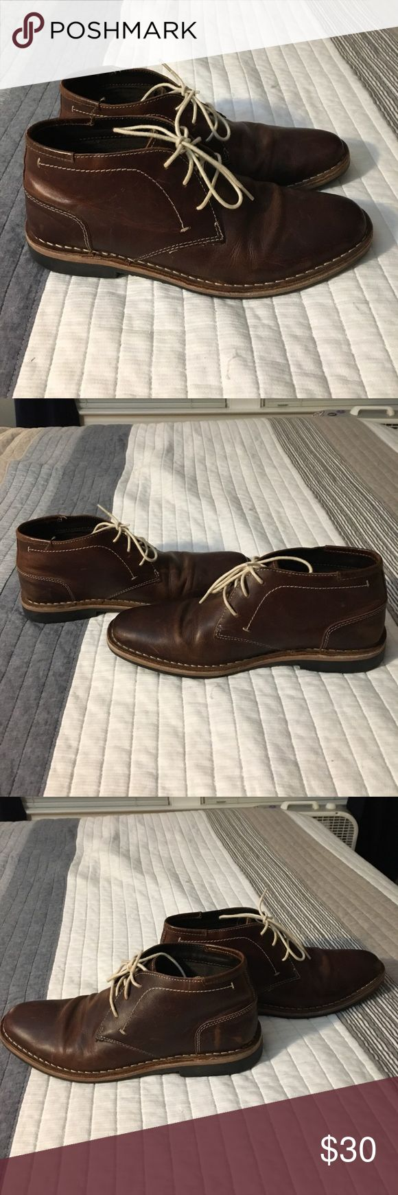 Steve Madden Brown Chukka Boots Great condition. Worn a few times. Very comfortable. Steve Madden Shoes Chukka Boots