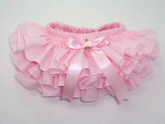 ruffle diaper cover bloomers.