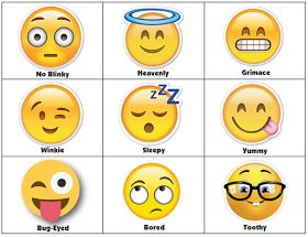 I finally got around to making this cute emoji face singing activity. I saw it over on the Facebook LDS Chorister's Site.    The idea was t...