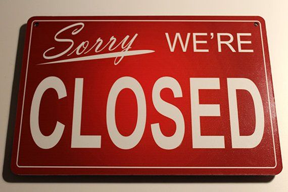 Open Closed Sign Store Open Closed Sign Red Open Closed Etsy Open Closed Signs Shop Front Signs Sign Solutions