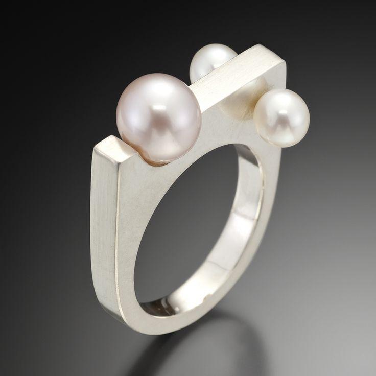 Artners Gallery - Pearls In Motion Ring, $355.00 (http://www.artnersgallery.com/pearls-in-motion-ring/)