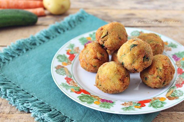 Fritte o cotte in forno le Polpette di verdure sono sempre buonissime, e potete anche surgelarle per averle sempre pronte all'occorrenza