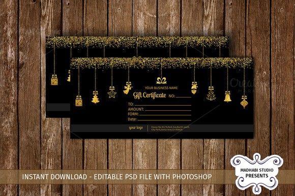 Christmas Card | Cute Reindeers. Creative Card Templates. $8.00