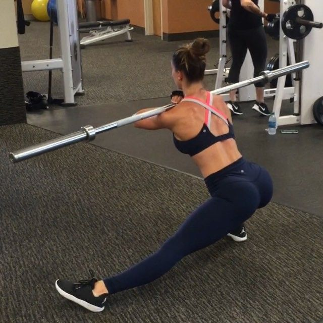 Front Loaded Lateral Lunge & Squat Staying deep to keep the  Walking Plate Lunges Brittanyperilleee by brittanyperilleee