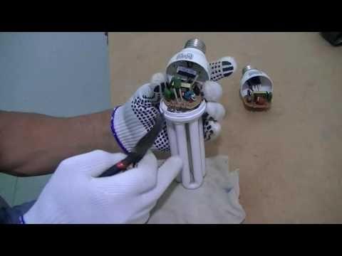 Como recuperar uma lampada fluorescente queimada