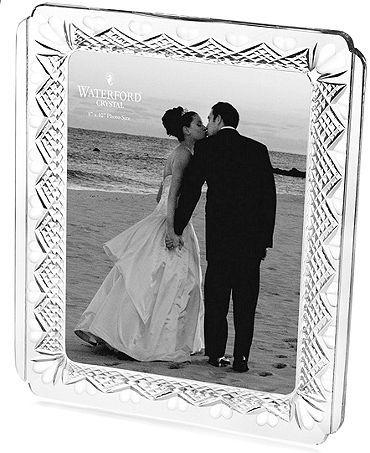 Waterford Wedding Heirloom 8x10 Frame #weddings #frames #gifts