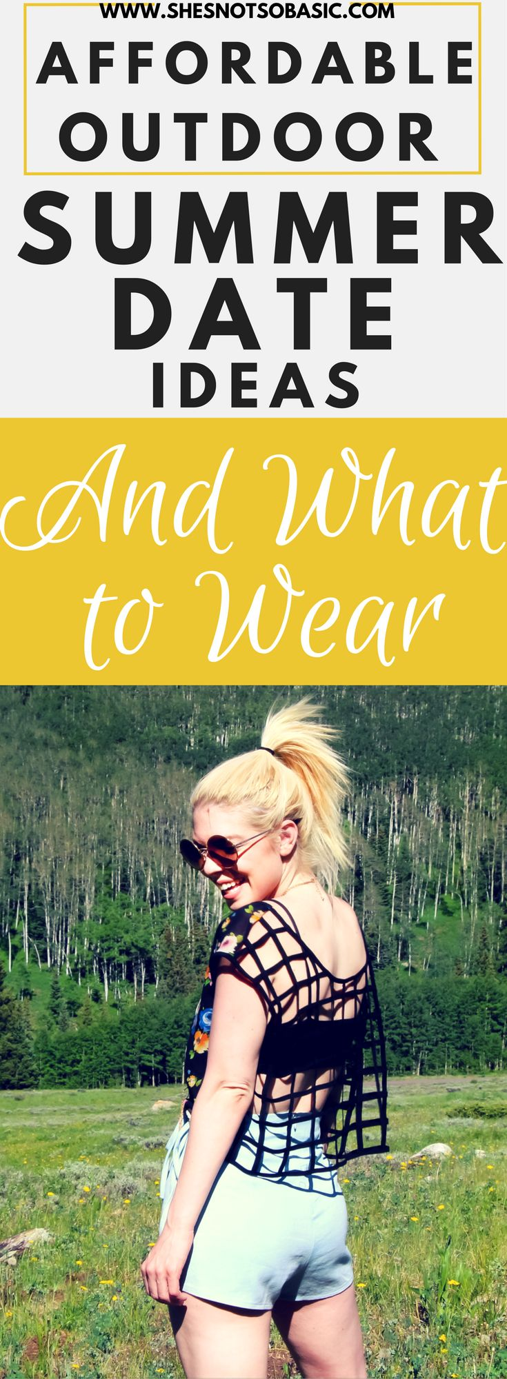 Affordable Summer Date Ideas and What to Wear