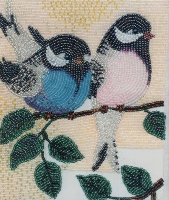 Сделать картину из бисера: Beads Embroidery