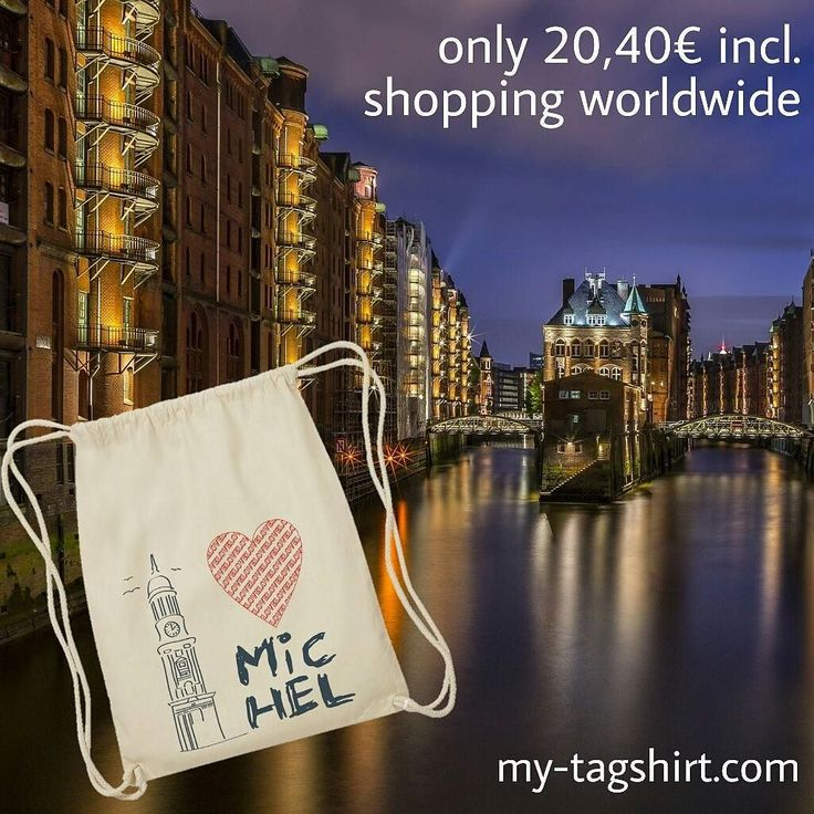 The landmark of Hamburg is the bell tower of the St. Michael's Church or Michel as the Hamburg say #Fairtrade meets #streetwear  #handmade in #Berlin  each piece is unique  100% #organic #cotton  100% #ecological  100% #fairtrade  shipping all over the world #fashion #stylish #shopping #design #dress #styles #purse #swag #topshop #musthave #swagger #outfitoftheday #streetwear #denim #liketkit #likeforlike #like4like #hamburg #michel