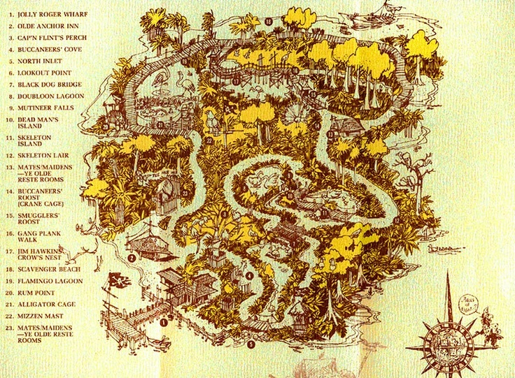 Discovery Island, the abandoned island at Walt Disney World