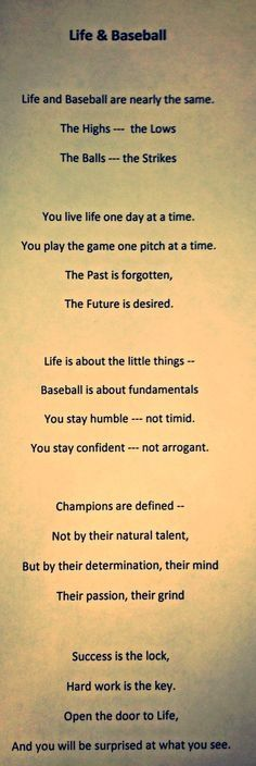 baseball poems - Yahoo Search Results