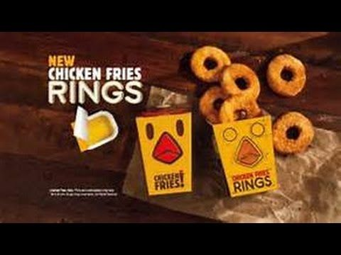 Burger King Chicken Fries Rings Review