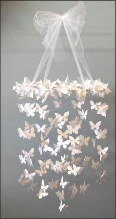 Butterfly Mobile for girls-room