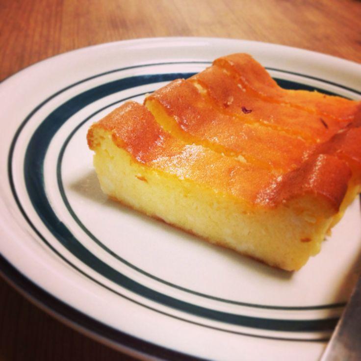 糖質制限チーズケーキ  普通のレシピより、コクがあっておいしい!