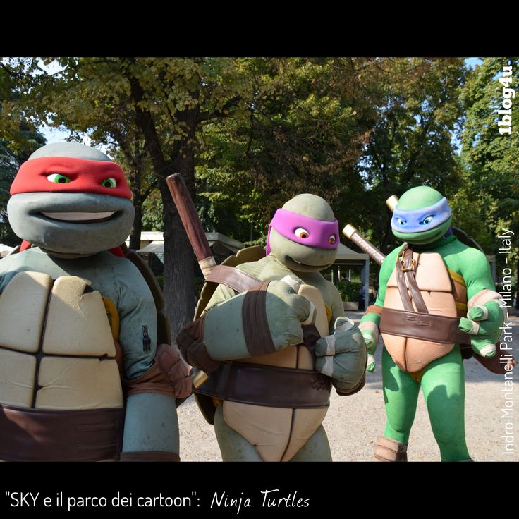 #SKY e il parco dei #cartoon : #Ninja #Turtles - #Teenage #Mutant #Ninja #Turtles #Mutant #Ninja #Turtles , #TMNT , #Nickelodeon -  #Kevin #Eastman , #Peter #Laird , #Mirage #Studios - #CheSpettacolo #Giardini #Indro #Montanelli, #Milano , #Italy - #Gabriella #Ruggieri for  #1blog4u - #Sergio #Bellotti - ph. credit #Vaifro #Minoretti for 1blog4u