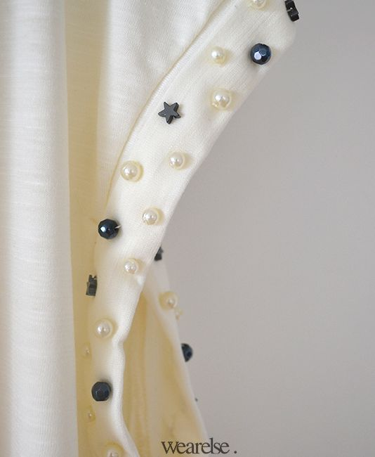 Bordado de piedras, Perlas y Estrellas | Remeron Turron | Wearelse