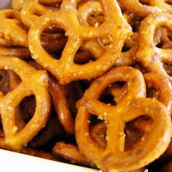 honey mustard pretzels recipe