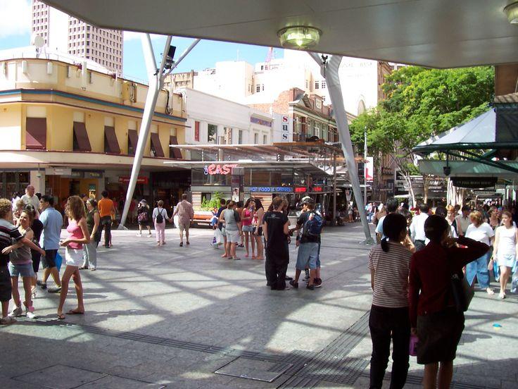 Queen Street Mall, Brisbane, Australia