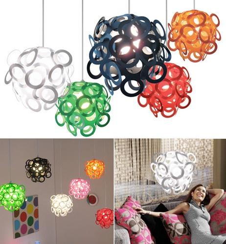 Loopy Lu Pendant Shade by Lothair Hamman contemporary lamp shades: Loopi Lu, Lights Fixtures, Lamps Shades, Pendants Shades, Lothair Hamman, Rooms Ideas, Girls Rooms, Kids Rooms, Teens Bedrooms