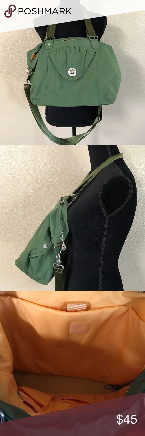 Baggalini army green bag Pre owned but in mint condition