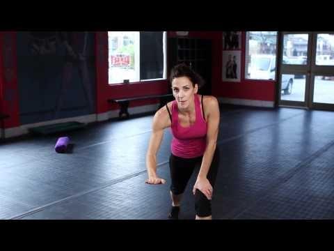 WEEK 5 - Cardio Kickboxing Instructional Video (Speed Skating Workout)