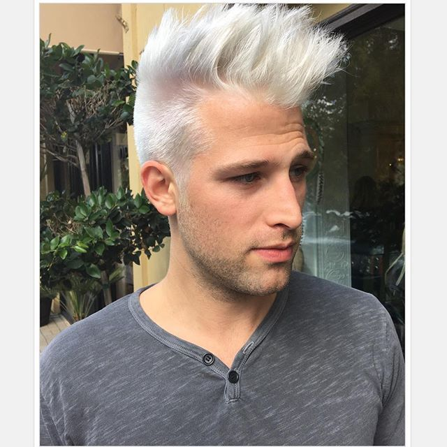 8 Best Hair Images On Pinterest Mans Hairstyle Colored Hair And