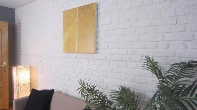 Cubrir pared con ladrillo decorativo