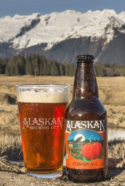 "Alaskan Brewing Co. put a new twist on its Pumpkin Porter this year, opting for an ale-based recipe that includes cloves, nutmeg, cinnamon, brown sugar and ""a pinch"" of alder-smoked malt. It will appear on grocery store shelves from now through mid-November, when the company starts shipping out its Winter Ale.   - Delish.com"