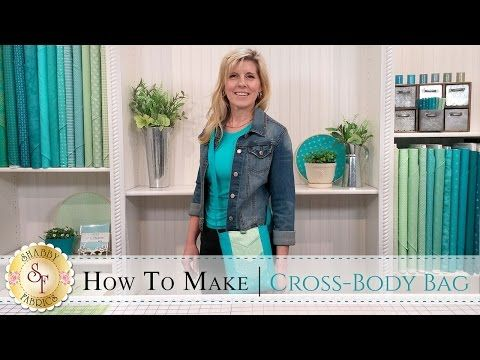 Cross Body Bag – video and free pattern – Sew Modern Bags