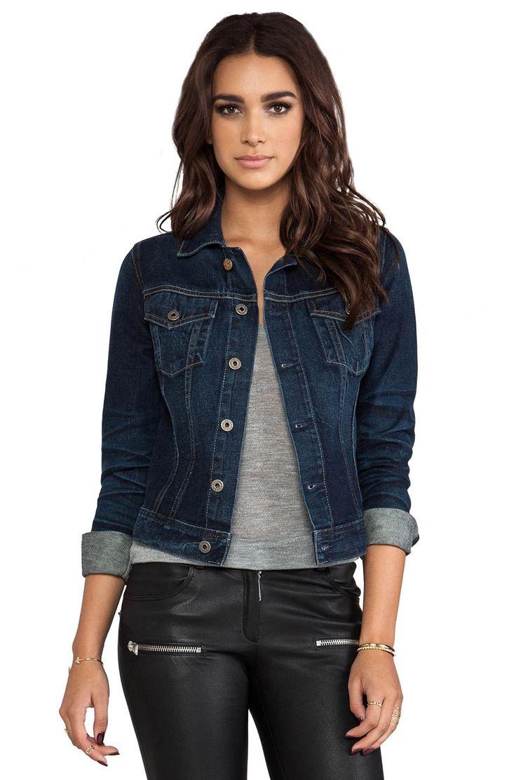dark denim jackets for women outfits wwwpixsharkcom
