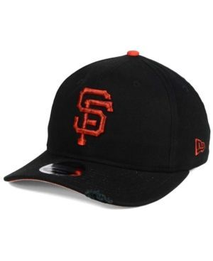 New Era San Francisco Giants Team Rustic 9FIFTY Snapback Cap - Black Adjustable