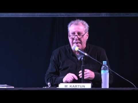 """Conferencia """"Leete éste. Esos libros que te cambian la vida"""" dada por Mauricio Kartun en el 18° Congreso Internacional de Promoción de la Lectura y el Libro el 7  de mayo del 2016 en la Feria del Libro, en la Feria del Libro de Buenos Aires."""