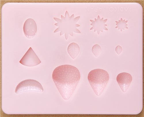mold for clay fruit from Japan 2