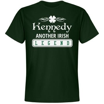 Kennedy another Irish legend