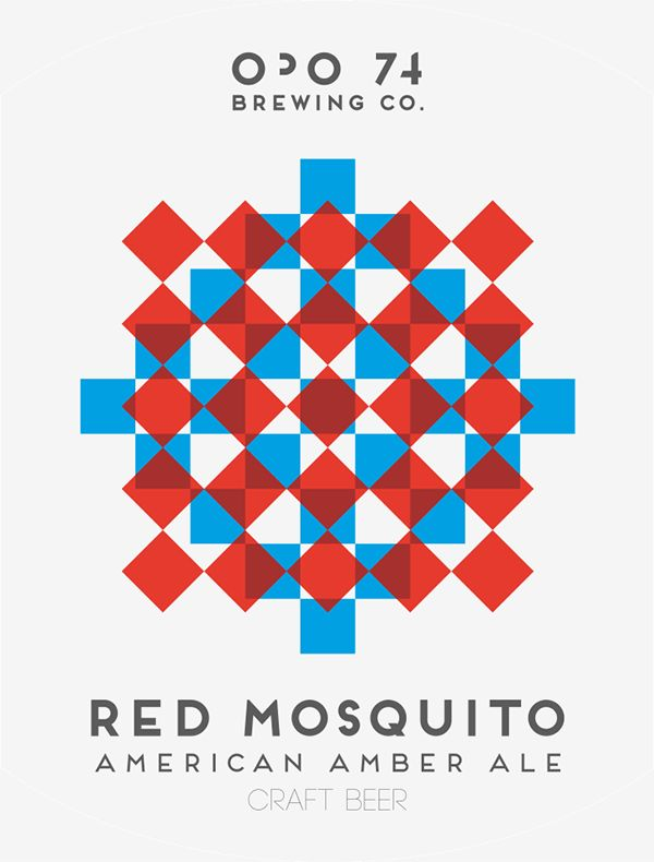 opo74 - Red Mosquito American Amber Ale Taste it!!!