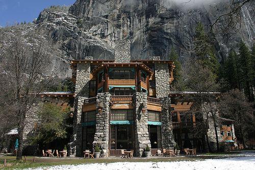 Ahwahnee Hotel in Yosemite Valley, CA