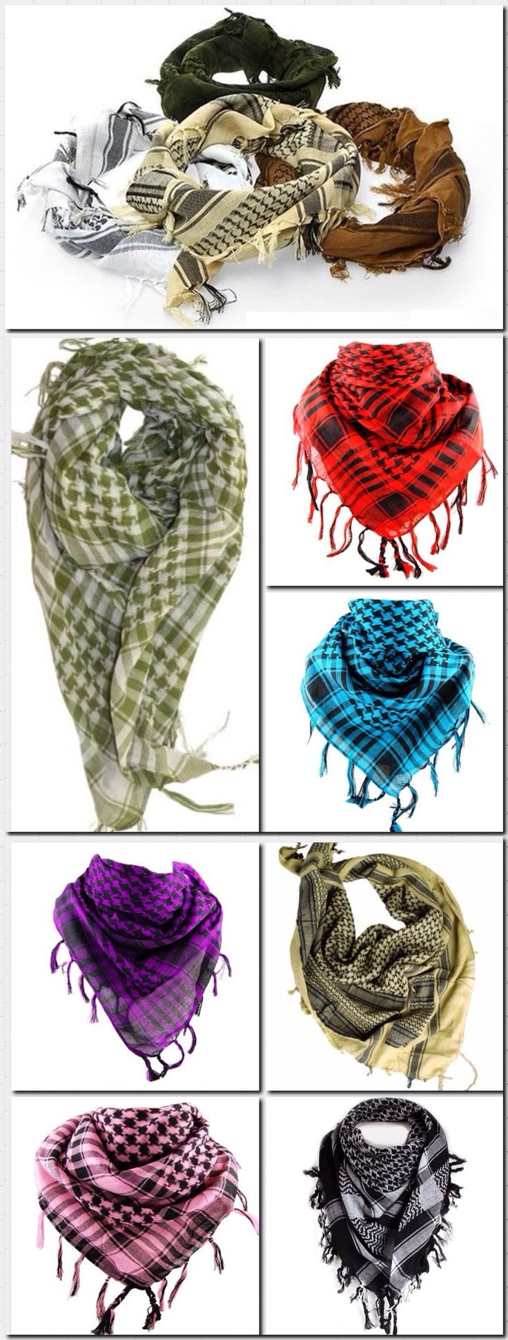 Shemagh Scarfs