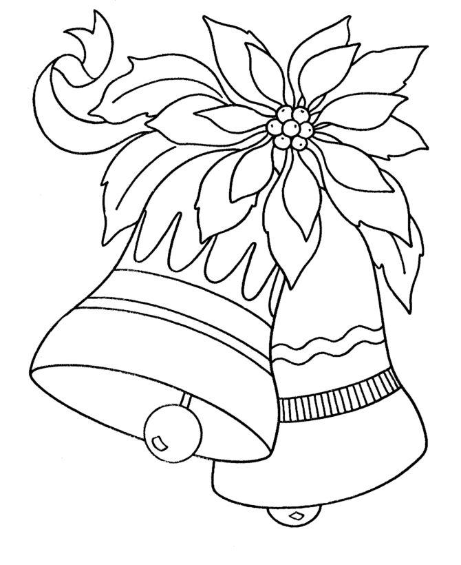 Dibujos de navidad para colorear campanas pinterest - Dibujos navidenos para imprimir y colorear ...