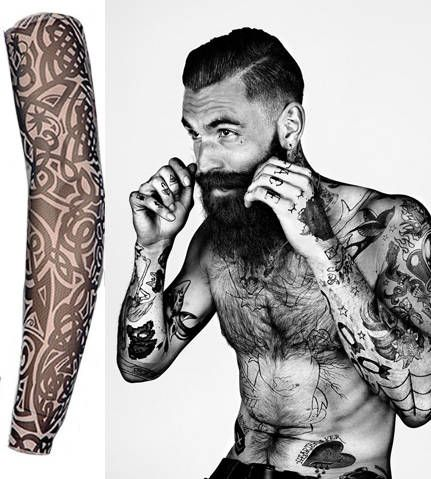 Tattoo Sleeve Nylon Elastic Temporary Sleeves