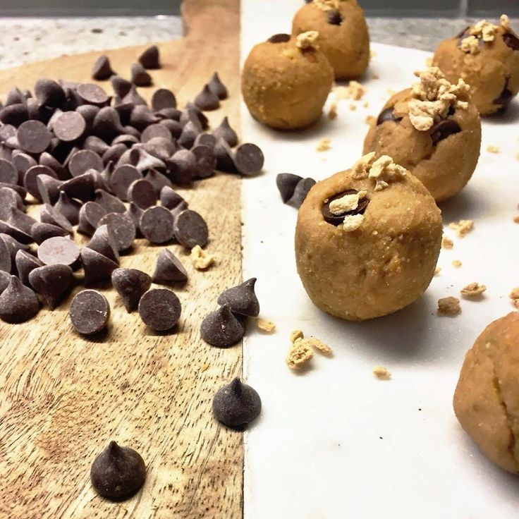 Chickpea Cookie Dough!