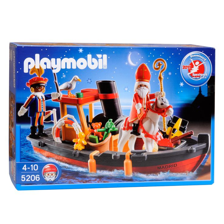 Playmobil 5206 Stoomboot van Sinterklaas