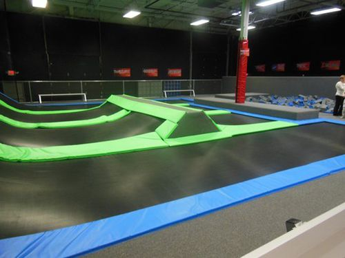 indoor trampoline gym