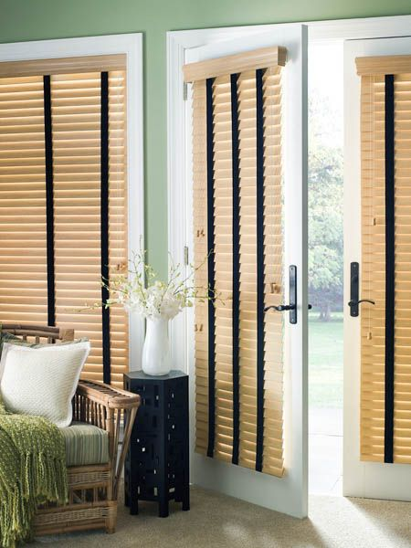 best 25 faux wood blinds ideas on pinterest room window sliding door curtains and diy. Black Bedroom Furniture Sets. Home Design Ideas