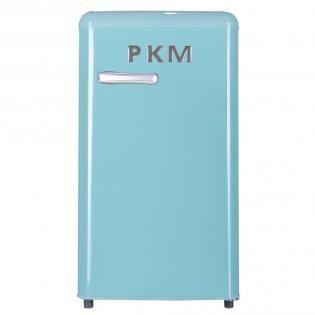 PKM KS R 86.4 petrol · Retro Kühlschrank mit Gefrierfach, A+ | redcoon