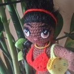 At long last, my crochet doll is done. I saw a lot of pretty crochet doll on Instagram, Facebook, Pinterest, however, I found patterns on these website, but I didn't find anywhere. Therefore, I thought I made  one myself. This doll is 35 cms tall with movable arms and legs. You can dress and brush. As for me, it is the most beautiful crochet doll what I have done.  I don't sell pattern!