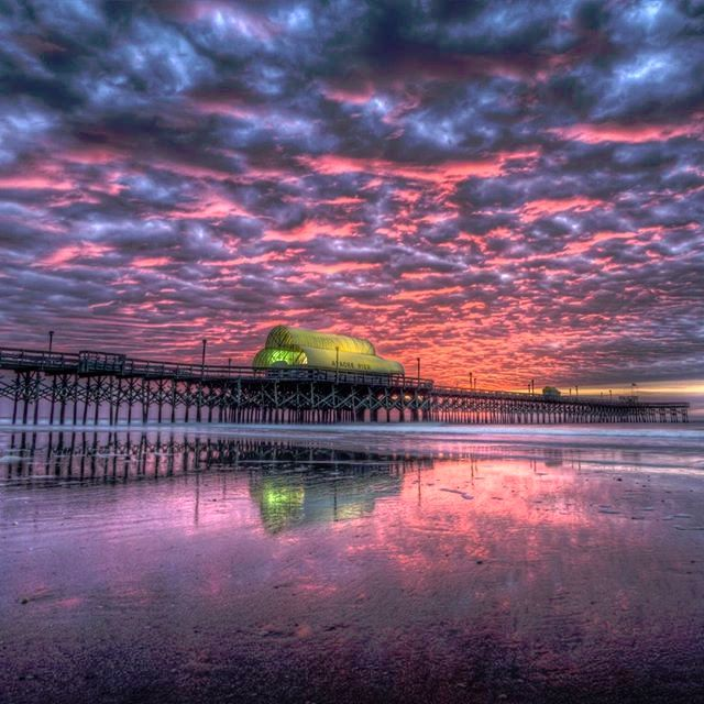 Apache pier myrtle beach south carolina photo via for North myrtle beach fishing pier