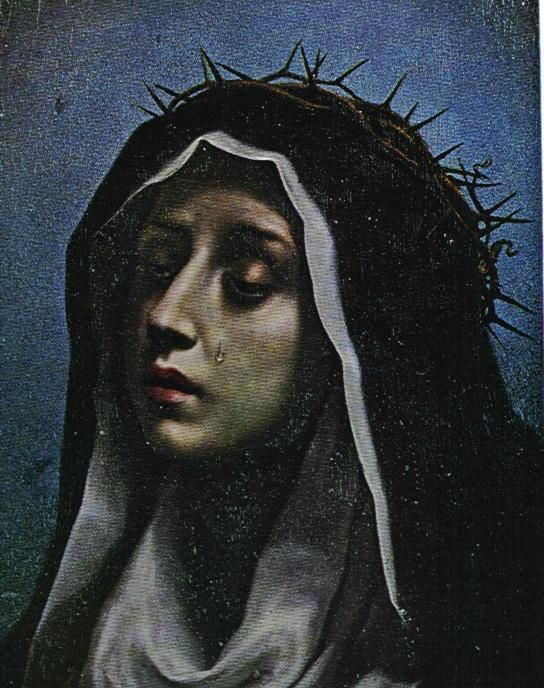 our lady of sorrows | Novena to Our Lady of Sorrows – CORRECTED! September 6, 2012