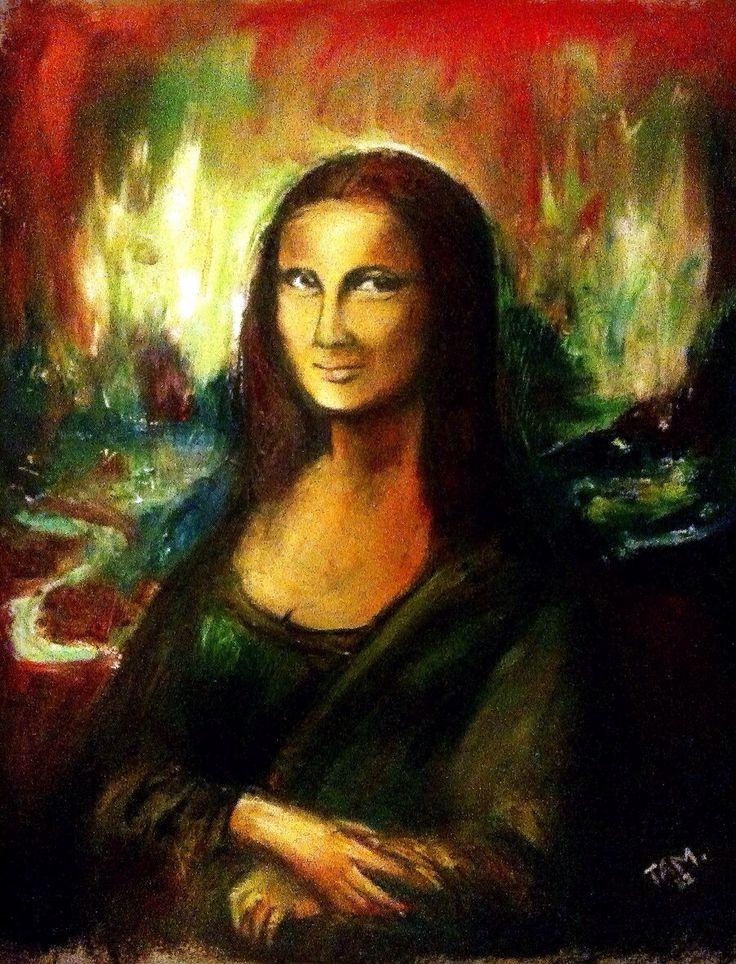 Mona Lisa color art | Mona Lisa Art | Pinterest | Mona ...
